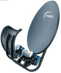 Wave Frontier T55 wide angle dish
